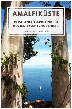 Wie wäre es mit einem Roadtrip entlang der wunderschönen Amalfiküste in Italien? Hier sind die besten Sehenswürdigkeiten in Amalfi, Positano und Capri.