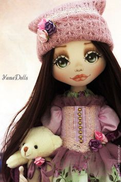 Леся - розовый,кукла ручной работы,кукла,кукла в подарок,авторская игрушка