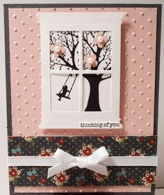 No mention on the site about where to get the window die cut......  The Paper Stamper: Spring Window