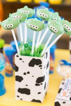 Toy Story Birthday Party with SO MANY REALLY CUTE IDEAS via Kara's Party Ideas | KarasPartyIdeas.com #ToyStoryParty #Party #Ideas #Supplies ...