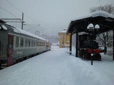 Narvik Train Station, Norway