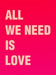 All We Need Is Love | From a unique collection of prints and multiples at https://www.1stdibs.com/art/prints-works-on-paper/