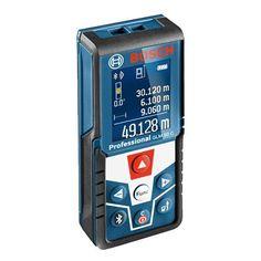 Bosch Professional laser measure GLM 50 C (data transfer via Bluetooth, inclination sensor, range: m, 2 x V batteries, protective bag) Bluetooth, Usb, Floor Plan App, Master App, Bosch Tools, Bosch Professional, Tablet Android, Gauges, Distance