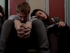 Maddy and Rhydian sleeping on a no moon day