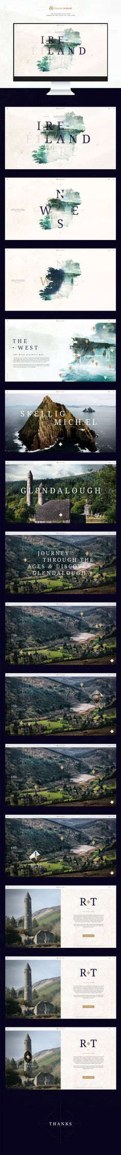 Ireland - Through The Ages on Behance