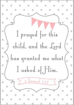 Bible verse for a baby girl close to your heart.