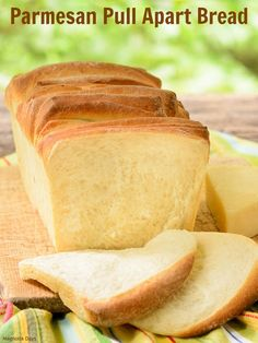Parmesan Pull Apart Bread