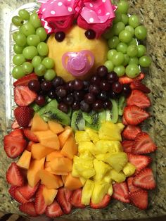 Ideas Baby Shower Ides For Girls Food Appetizers Daughters For 2019 Baby Shower Fruit, Baby Shower Menu, Baby Shower Treats, Baby Shower Cookies, Girl Shower, Baby Shower Food For Girl, Shower Appetizers, Baby Shower Winter, Food Menu