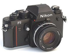 Nikon - one day. This is the camera I'm considering for my future project of b film photography. Old Cameras, Vintage Cameras, Nikon Cameras, 35mm Camera, Camera Gear, Nikon F3, Photo Lens, Classic Camera, Still Photography
