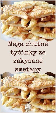Mega chutné tyčinky ze zakysané smetany Slovak Recipes, Czech Recipes, Ethnic Recipes, Crazy Kitchen, Snacks Für Party, Savoury Cake, Finger Foods, Appetizer Recipes, Good Food