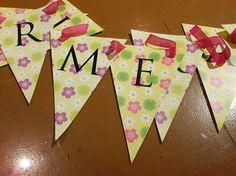 Banderines personalizados! consultanos en info@delicadosdetalles.com.ar