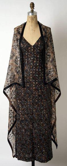 Dress  James Galanos, 1970s  The Metropolitan Museum of Art