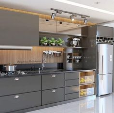 Outstanding modern kitchen room are offered on our web pages. look at this and you wont be sorry you did. Modern Kitchen Interiors, Modern Kitchen Cabinets, Home Decor Kitchen, Kitchen Furniture, Home Kitchens, Kitchen Ideas, Furniture Legs, Garden Furniture, Furniture Design