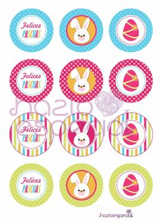 Easter Games, Bottle Crafts, Happy Easter, Kids Rugs, Stickers, Ideas Para, Design, Happy, Easter Crafts
