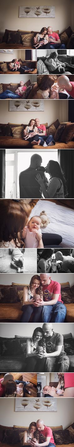 In Home Newborn Photography | Lifestyle | Baby Girl | Family Photography | Amy Butterfield Photography