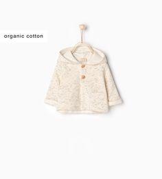 Organic cotton sweatshirt-New this week-MINI   0-12 months-COLLECTION SS16   ZARA United States