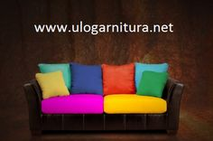"""How To Create A """"Naturally"""" Beautiful Space Colourful Cushions, Nature Decor, Naturally Beautiful, Beautiful Space, Leather Sofa, Design Inspiration, House Design, Health Remedies, Furniture"""