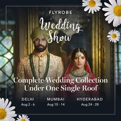 Save The Date For Flyrobe Wedding Show - Fashion Foody