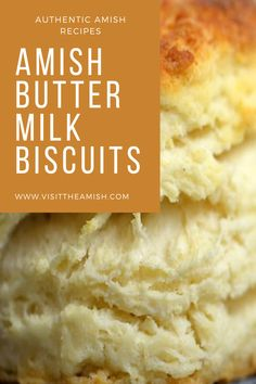 Amish Buttermilk Biscuits Fresh, homemade buttermilk biscuits are the perfect complement to your dinner! Easy Biscuit Recipe, Homemade Buttermilk Biscuits, Buttermilk Recipes, Buttery Biscuits, Recipe For Homemade Biscuits, Amish Donuts Recipe, Buttermilk Cookies, Friendship Bread Starter, Amish Friendship Bread
