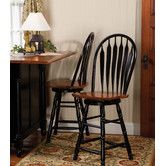 "Found it at Wayfair - Sunset Selections 24"" Swivel Bar Stool"