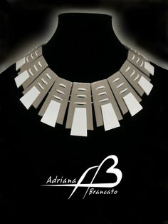 Collar Azteca Crema (Necklace)