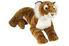 "Laying Tiger Stuffed Animal - 16"" Class"