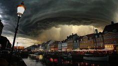 Fake? Yes Where:Montana / Copenhagen, Denmark Hoax: Presented as cyclone Bodil hitting Denmark on December 8, 2013.