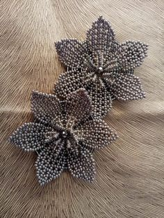 Mosaic Flowers, Beaded Flowers, Beaded Jewelry, Beading, Jewelry Making, Brooch, Necklaces, Crochet, How To Make