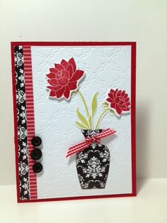 daydreamer, mega gracious vases, He Golfs...I STAMP!: Papertrey Ink