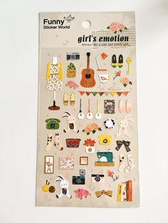 Girl's Best Friends Stickers // Erin Condren Planner Stickers // Scrapbooking embellishment // DIY essentials