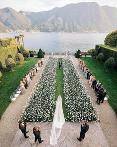 "LEBANESE WEDDINGS on Instagram: ""A breathtaking ceremony with 10,000 real flowers 😍  Are you a fan of outdoor ceremonies or indoor ones ?  __________________________ ▪︎…"" Wedding Event Planner, Wedding Goals, Wedding Events, Wedding Ceremony, Destination Wedding, Bouquet Wedding, Wedding Bride, Wedding Hair, Wedding Seating"