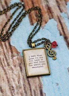Hey, I found this really awesome Etsy listing at https://www.etsy.com/listing/197196760/jimmy-eat-world-lyrics-quote-necklace