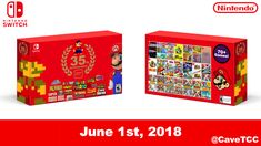 [Fan-Made] Mario Bros. 35th Anniversary - Nintendo Switch Collectors Set http://bit.ly/2lnzap3 #nintendo