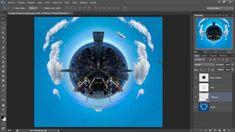 Tutorial Photoshop - Crear un mini planeta.
