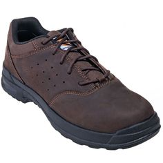 Carhartt Boots Men's CMO3040 Brown EH 3-Inch Oxford Walking Shoes