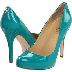 Ivanka Trump - Pinkish in turquoise patent $125.00