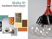 so pottery barn Art Projector, Light Bulb, Diy Light, Diy Crafts For Kids, Craft Ideas, Stage Design, Pottery Barn, Ideas Para, Home Improvement