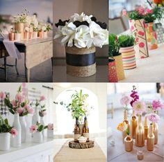 Eco-friendly Wedding Ideas: Upcycle your wedding decor