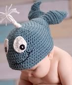Waverly the Whale all sizes Newborn Crochet, Crochet Baby Hats, Crochet For Kids, Baby Knitting, Crochet Whale, Knit Crochet, Crotchet, Whale Costume, Baby Lovies