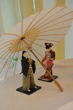 Theme Japon Mariage PL decoration samourai et geisha g image in