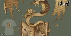 T-shirts - Design: The mysterious game of thrones - by: Enkel Dika