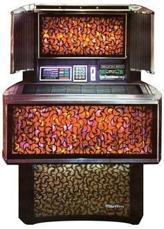1973  Seeburg SPS2 45s RPM Jukebox Holds 80 45s by ModOnMain.