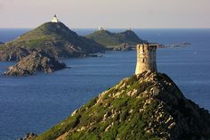 Iles Sanguinaires, Corsica, France