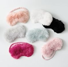 RH TEEN's Kashmir Faux Fur Mask:Glamour on the go. Sewn from lush faux fur that recreates the indulgent feel of the real thing, our sleep mask delivers chic comfort whether you're lounging at home or resting on the road.