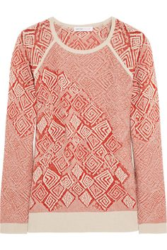 See by Chloé | Jacquard knitted sweater | NET-A-PORTER.COM