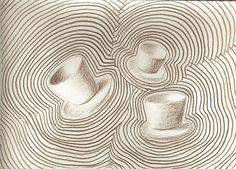 """""""cup wave"""", drawing on paper, 21 x 15 cm, ©matthias hennig 2013 #drawing #artwork #matthias #hennig #color www.matthiashennig.de"""