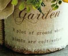 Garden definition - a plot of ground where plants are cultivated Lawn And Garden, Herb Garden, Garden Tools, Garden Club, Herb Farm, Garden Quotes, String Of Pearls, Snake Plant, Autumn Garden