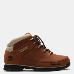 Timberland Euro Sprint Hiker For Men In Brown/white Brown/white, Size 11 Denim Jacket Fashion, Mens Fashion, Best Sneakers, High Top Sneakers, Michael Jai White, Timberland Boots Outfit, Hiking Shoes, Shoe Collection, Casual Shoes