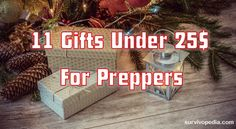 11 Gifts Under $25 For Preppers