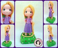 Fabi Felix Artesanato: Rapunzel  fofinha